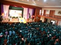 Lễ trưởng thành đầy ý nghĩa của học sinh khối 12