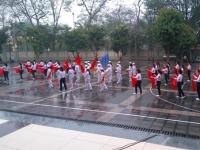 Liên đội trường Nguyễn Tất Thành giành giải nhất Hội thi nghi thức Đội cấp cụm Cầu Giấy