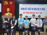 Chung kết cuộc thi Khoa học Kĩ thuật cấp Trường năm học 2019 - 2020