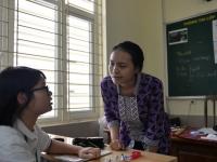 Theo chân đoàn tình nguyện viên Indonesia tại trường Nguyễn Tất Thành
