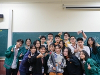 Cùng học sinh CLB Tiếng Anh trau dồi kĩ năng giao tiếp