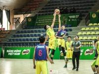 Giải bóng rổ học sinh THPT TP. Hà Nội – Không bao giờ bỏ cuộc