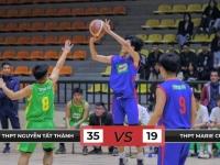 Giải Bóng rổ THPT TP. Hà Nội: Chiến thắng đầy ấn tượng