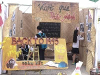 """Hội trại – Một phòng trưng bày """"mở"""" về Bác Hồ kính yêu"""