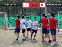 THPT Nguyễn Tất Thành 0-1 Khoa Lịch sử: Ngẩng cao đầu rời giải
