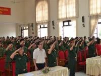 Học sinh lớp 10 tham gia Học kỳ quân đội