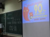 Chào mừng kỉ niệm 90 năm ngày thành lập Đoàn Thanh niên Cộng Sản Hồ Chí Minh