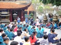 Bảo tồn, phát triển các giá trị Lịch sử - Văn hóa của vương triều Lý qua học tập trải nghiệm tại Đền Đô