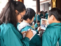 Học tập và trải nghiệm tại Đền Đô - ấn tượng khó quên