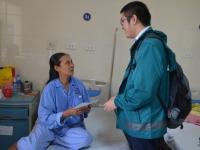 Chuyến đi từ thiện tới bệnh viện K