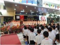 Ấn tượng Lễ mít tinh kỷ niệm 15 năm thành lập trường Nguyễn Tất Thành