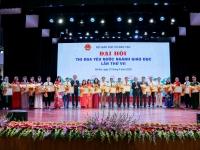Đại hội Thi đua Yêu nước - Ngành Giáo dục Đào tạo lần thứ IX - Giai đoạn 2016-2020