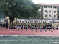 Những hình ảnh về khoá học Giáo dục quốc phòng năm 2014 tại trường THCS&THPT Nguyễn Tất Thành