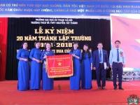 Lễ kỷ niệm 20 năm thành lập Trường THCS và THPT Nguyễn Tất Thành