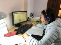 Học sinh Trường Nguyễn Tất Thành học tập online tại nhà trong mùa dịch bệnh