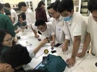 Trải nghiệm học tập môn Công nghệ tại Khoa Sư phạm Kĩ thuật