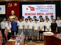 Chào đón đoàn học sinh trường Miyazaki Omiya (Nhật Bản) – Cuộc tái ngộ của những người bạn lâu năm