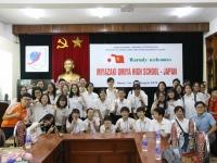 Giao lưu với học sinh Nhật Bản cùng CLB Khoa học (SPC)