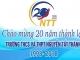 Thư ngỏ gửi cựu học sinh trường THCS&THPT Nguyễn Tất Thành