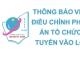 Thông báo (số 2) về việc điều chỉnh phương án tổ chức thi tuyển vào lớp 10 Trường THCS&THPT Nguyễn Tất Thành, năm học 2021 - 2022